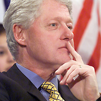(1/9/01) President Bill Clinton