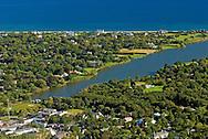 New York, Southampton, Agawam Lake, Aerial