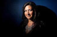 Portrait of Randi Zuckerberg at the Clinton Global Initiative Annual Meeting in New York.   ...Photo by Robert Caplin.