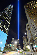Tribute in Light - We Shall Never Forget. 2016.