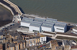Image &copy;Licensed to i-Images Picture Agency. Aerials kent views.<br /> TURNER CONTEMPORARY MARGATE. Picture by i-Images