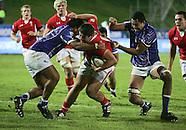 Tuesday 12 June Wales v Samoa