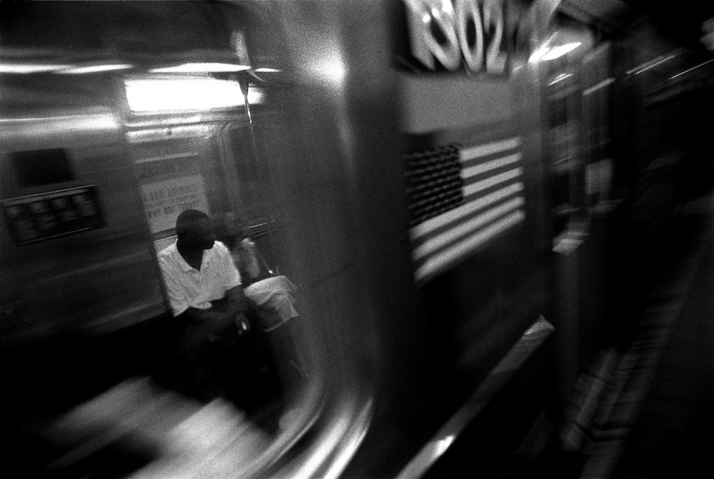 New York, New York. 2005...New York City in Black and White. An Essay on Individuality and Loneliness in the Big City.