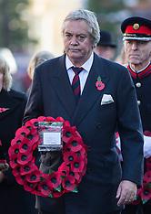 NOV 09 2014 12th Duke of Marlborough attends Remembrance Sunday at Woodstock