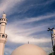 The Omar Ibn Al-Khattab mosque in Foz do Iguacu