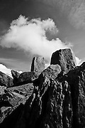 Adam and Eve, Tryfan, Snowdonia, North Wales. Taken at the summit<br /> <br /> All posters are self-fulfilled. Prices vary depending on poster size and quality. Delivery is usually &pound;3.75.<br /> <br /> For poster orders please email: poster@paulineayates.com