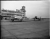 1956 - Aer Lingus special - aircraft with new markings at Dublin Airport