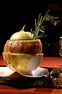 Orlando, Fla.; Oct. 16, 2007 - French onion soup during food shoot at Nine-18 at Grand Cypress Resort for GLO winter issue.../Scott A. Miller