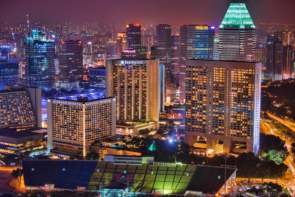 Singapore, North of Marina Bay