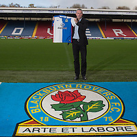 New Blackburn Rovers manager Paul Lambert is unveiled to the media during a press conference held at Ewood Park, Blackburn on November 16th 2015