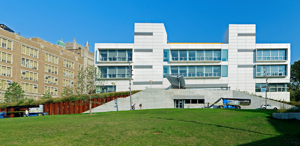 Ccny Architecture: City College Of New York, The Bernard & Anne Spitzer