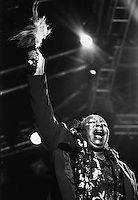Nina Simone performing live at the bishopstock blues festival in 2001