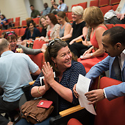 ESL Graduation ceremony at the Hemmingson Center. (Photo by Gonzaga University)