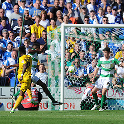 Ellis Harrison of Bristol Rovers scores his sides goal - Photo mandatory by-line: Harry Trump/JMP - Mobile: 07966 386802 - 15/08/15 - SPORT - FOOTBALL - Sky Bet League Two - Yeovil Town v Bristol Rovers - Huish Park, Yeovil, England.