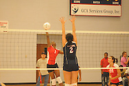 Lafayette High vs. Lewisburg in playoff volleyball action on Thursday, October 7, 2010. Lewisburg won.