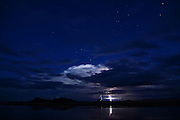 Lightening storm over the Rio Parapeti in Isosog