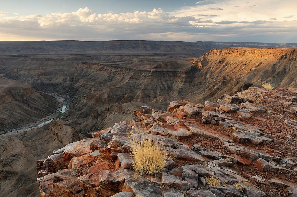 Main view of Fish River Canyon, Hobas, Fish River Canyon Area Conservation, Karas Region, Namibia