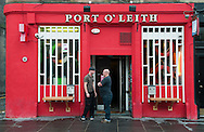 A day at the Port o' Leith bar with Peter Ross. Taken on the 19th October 2013<br /> <br /> Picture by Alex Hewitt