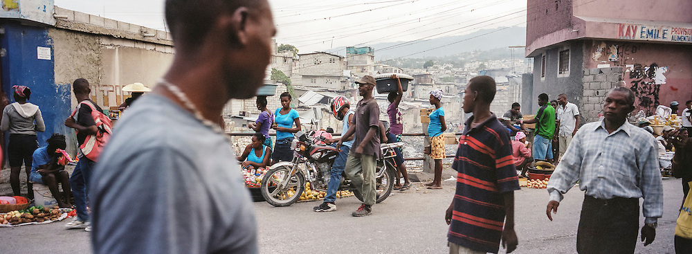 A street in Delmas on Sunday, December 14, 2014 in Port-au-Prince, Haiti.