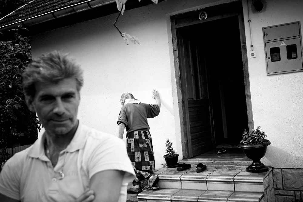 BiH, Mioca, 2009. Kemal Hasecic and his mother returned to the village Mioca near Rudo.