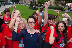 "Westminster, September 3rd 2014. Family members and campaigners against the ""outdated"" law of Joint Enterprise, which has seen people with little direct involvement in crimes convicted and imprisoned, attend the House of Lords Select committee inquiry into Joint Enterprise.   PAYMENT/CONTACT DETAILS: paul@pauldaveycreative.co.uk Te' +44 (0) 7966 016 296 or +44 (0) 208 969 6875"