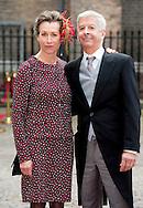 Ronald Plasterk met zijn vrouw