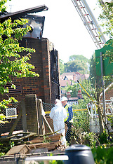 JUNE 05 2013 Fire at Mosque in Muswell Hill