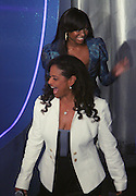 l to r: Debbie Allen and Naturi Naughton at the announcement for The 2009 BET HIP HOP Awards Nominees held at BET Studios on September 16, 2009 in New York City