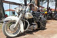 Classy Harley in Rafael Freyre, Holguin, Cuba.