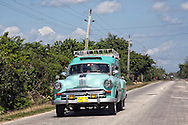 Station wagon in Velasco, Holguin, Cuba.