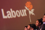 DAVID TREISMAN, Labour Party conference, in Glasgow, Scotland, 16th February 2003.