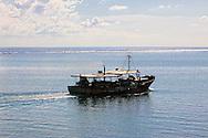 Fishing boat in Cabot Cruz, Granma, Cuba.