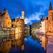 Bruges at Night / Belgium