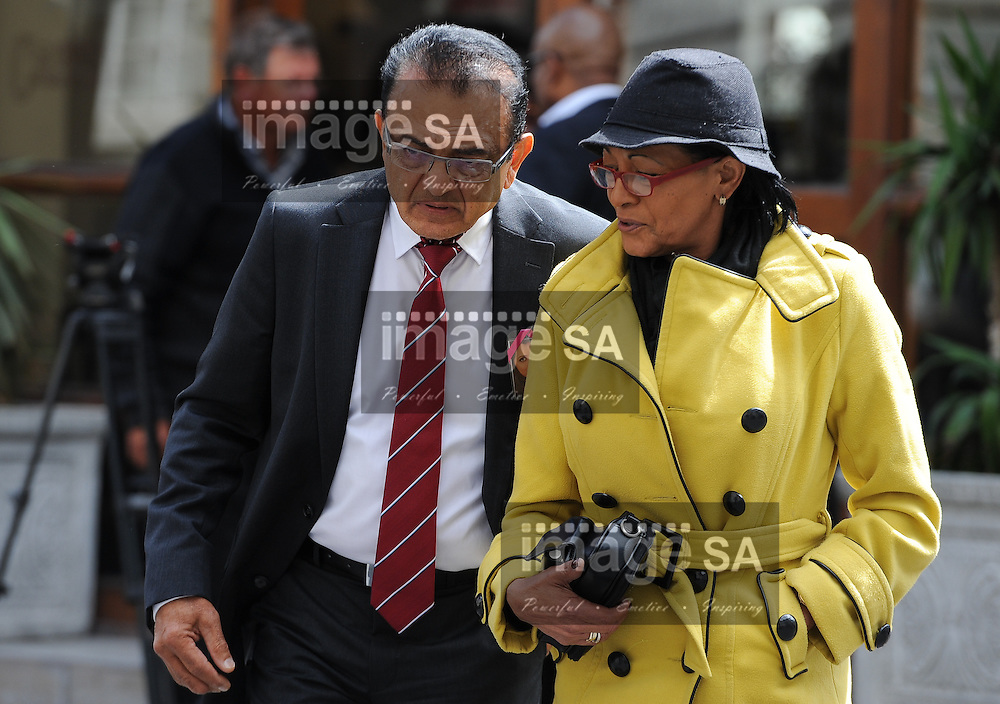 CAPE TOWN, SOUTH AFRICA - Thursday 8 October 2014,   Vinod Hindocha, father of Anni Dewani, during Day 3 of the Shrien Dewani trial at the Cape High Court before Judge Jeanette Traverso. Dewani is caused of hiring hit men to murder his wife, Anni. Anni Ninna Dewani (n&eacute;e Hindocha; 12 March 1982 &ndash; 13 November 2010) was a Swedish woman who, while on her honeymoon in South Africa, was kidnapped and then murdered in Gugulethu township near Cape Town on 13 November 2010 (wikipedia).<br /> Photo by Roger Sedres
