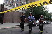 Scaffling Collapse in Park Slope Brooklyn on August 18, 2009