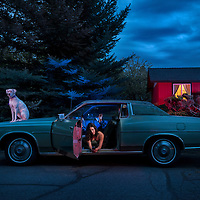 American Dreamscapes / Alondra and the Dog