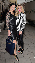 Zoe Griffin and Guest attend Cherry Edit Launch Party at Cafe Kuizen, Hanover Square, London on Wednesday 1 October 2014