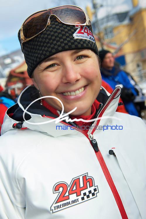 Mélanie Turgeon au 24h de Tremblant 2011
