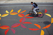 Cyclist in Paris<br />