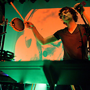 """WASHINGTON, DC - March 23rd, 2012 - Belgian-Australian multi-instrumental musician and singer-songwriter Gotye performs at the 9:30 Club in Washington, D.C. His single """"Somebody That I Used to Know""""(featuring Kimbra) has reached number one in nine countries and is top 5 in the Billboard Hot 100. (Photo by Kyle Gustafson/For The Washington Post)"""