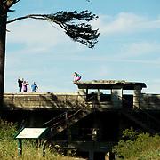 Ford Worden Coastal Gun Battery.  Port Townsend, Washington State, USA.