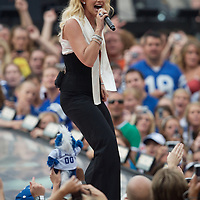 Concert - NFL Kickoff with Hinder, Kelly Clarkson, Faith Hill Indianapolis, IN
