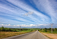 Country road near Orlando Nordase, Artemisa, Cuba.