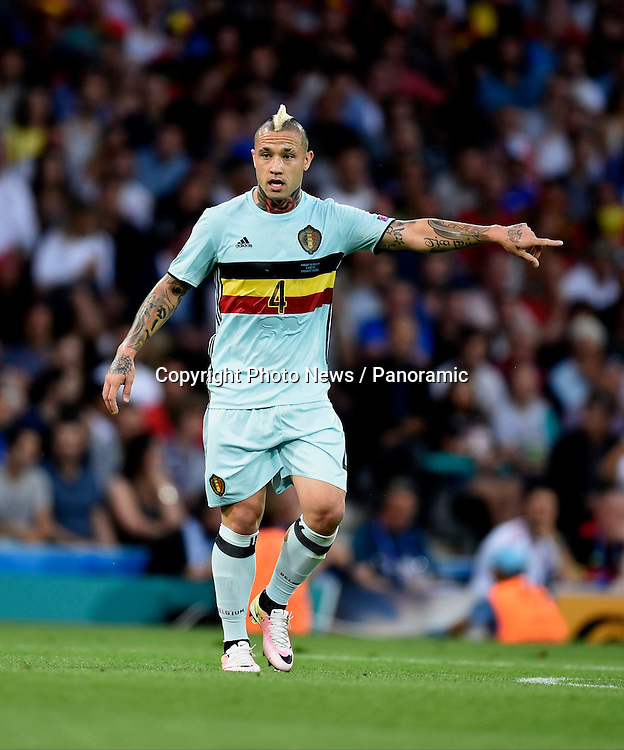 TOULOUSE, FRANCE - JUNE 26 : Radja Nainggolan midfielder of Belgium