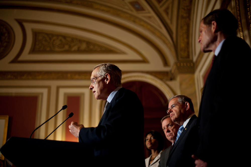 During a press conference on Capitol Hill Wednesday, Senate Majority Leader HARRY REID (R-NV) said that the Senate is reviving the Dream Act legislation that failed during the lame-duck session of the last Congress, when Democrats controlled both chambers.