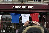 Paris Terror Attacks French Flag