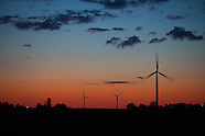 Agriculture Stock Images: Wind Energy