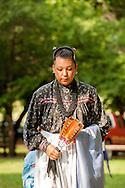Teenager, dancer, Murrow Powwow, Caddo Nation, Indians, Native Americans, Binger, Oklahoma