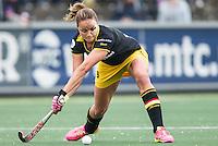 AMSTERDAM - Amsterdam - Den Bosch , Wagener Stadion , Hockey , Play-off hoofdklasse hockey , 03-05-2015 , Den Bosch speelster Maartje Paumen