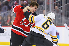 January 2, 2017: Boston Bruins at New Jersey Devils